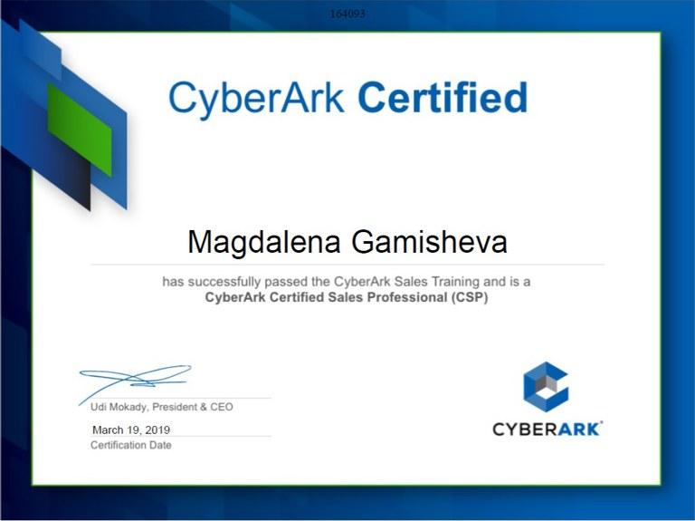 CyberArk Sales Professional