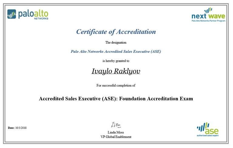 PaloAlto Sales Executive